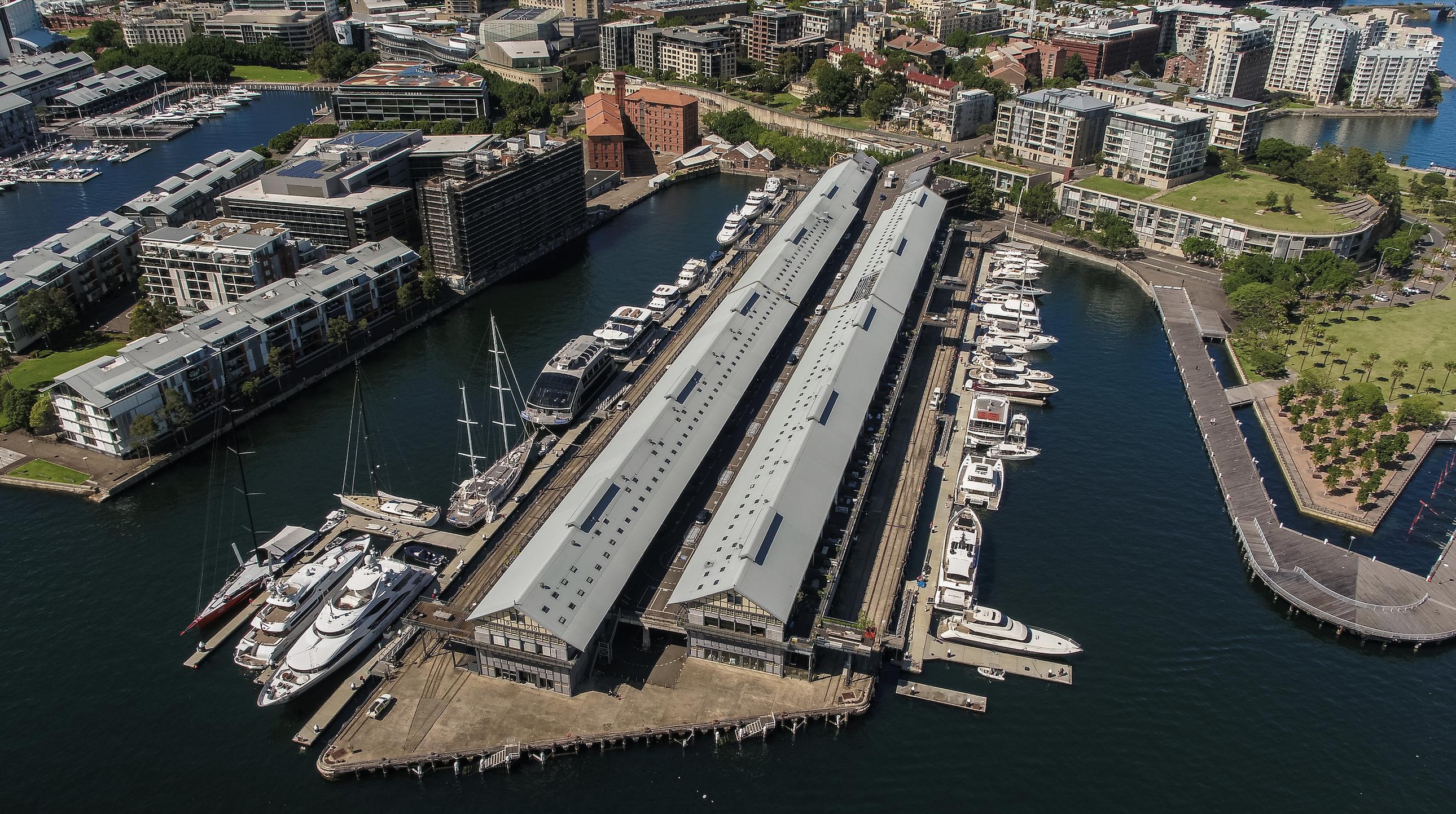 Boutique Superyacht Marina Sydney